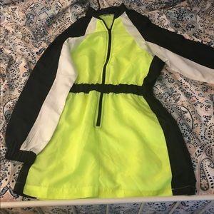Casual Windbreaker Dress